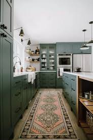 best color to paint kitchen cabinets 2021 the best non white kitchen cabinet paint colors from the
