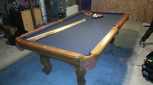 Felt Pool Table by Pool Table Movers In Denver