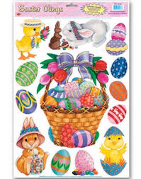 Easter Decorations For Shop Windows by Window Decorations Halloween Window Decorations