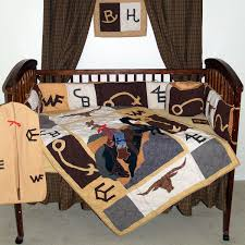Western Boy Crib Bedding Brand 6 Crib Set By Patch Magic Set Includes 6 Pieces Quilt