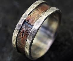 rustic mens wedding bands men s wedding ring