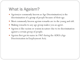 ageism power point presentation