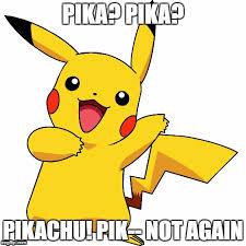 Funny Pikachu Memes - pikachu noooo imgflip