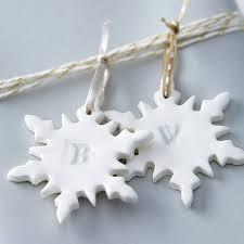 alphabet snowflake christmas decoration by artisan