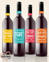 wine labels for any occasion funny and unique gift or decor
