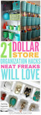 neat freaks everywhere will love these dollar store organization