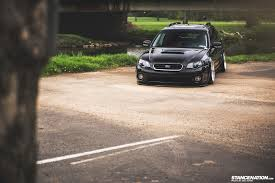 stanced subaru hd getting it jay u0027s bagged subaru legacy outback stancenation