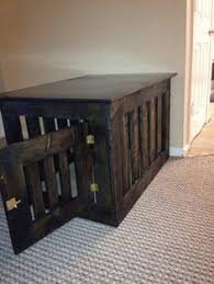 How To Build End Table Dog Crate by Prettiest Dog Crate You U0027ve Ever Seen Of Course It U0027s Diy Wood