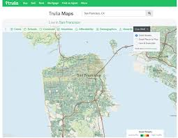 America Map San Francisco by Mapping Traffic Volume On Every Street In America Trulia U0027s Blog
