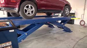 lexus body shop scissor car lift from bendpak xr 12000 quatra automotive shop