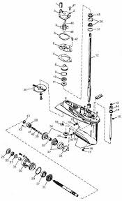 mercury outboard parts drawing 40 60 hp p n 1 to 24
