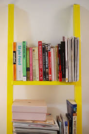 Diy Ladder Bookshelf Ladder Bookshelf Diy She Is Red
