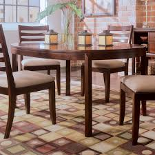 american drew 912 701 tribecca round leg table in root beer