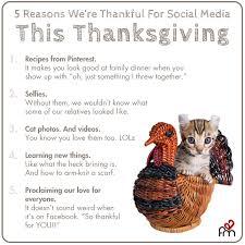 5 reasons we re thankful for social media this season