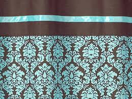 brown shower curtains turquoise and brown living room turquoise