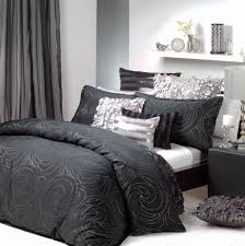 black silver quilt cover set bedding chick pinterest quilt black silver quilt cover set