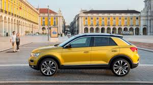 volkswagen thing yellow 2018 volkswagen t roc 2 0 tsi 4motion first drive fun and