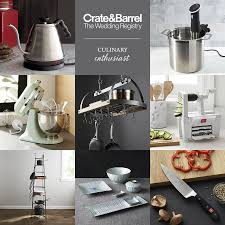 kitchen wedding registry crate and barrel beyond the basics wedding registry ideas
