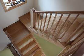 stair awesome oak wood tread stair combine with dark brown lines