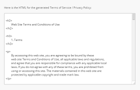Terms And Conditions Of Use by Terms U0026 Conditions Template Ecommerce How To Guide