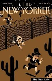 the new yorker thanksgiving cover takes on immigration huffpost