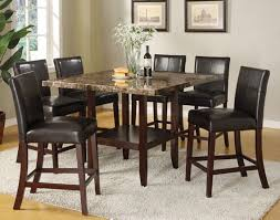 faux marble dining room table set faux marble top dining table set dining room tables popular dining