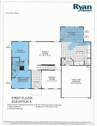 Floor Plan With Elevation by Building A Verona With Ryan Homes Verona Floor Plan