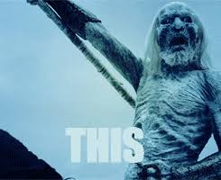 White Walker Meme - valar morghulis the undead on game of thrones the wannabes