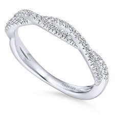 18k white gold wedding band 18k white gold contemporary twisted wedding band wb12982r4w83jj