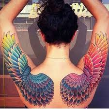wing tattoos 125 wing tattoos that are heavenly