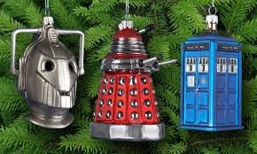 time for decorating with doctor who