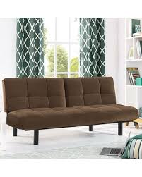 Futon Sofa Bed Sale by On Sale Now 31 Off Serta Khloe Convertible Futon Sofa Bed Brown