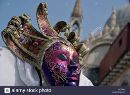 venetian mask traditional venetian mask st s square venice italy stock