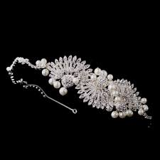 tiaras uk charleston vintage deco side tiara wedding hair accessories