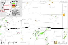 Illinois Us Map by Illinois State Geological Survey Seismic Line Data Release To Spur