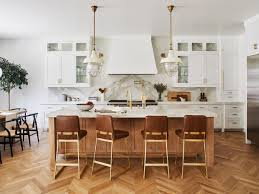 kitchen cabinet ideas with wood floors 13 beautiful kitchen floor ideas that are sure to the show