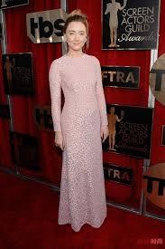 Womens Light Pink Dress Sag Awards Red Carpet Dresses 2016 Light Pink Lace Evening Dresses