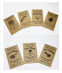 wedding seed packets seed packets seed packet favors seed packet wedding favors