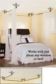 Amazon Curtain Rails Use A Curtain Rod And A Table Cloth For A Cheap Marie Antoinette