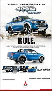 mitsubishi truck 2015 mitsubishi revives fieldmaster name for new strada w brochure