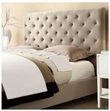 impressive tufted headboard and bed frame appealing queen bed