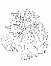 free disney princess coloring pages print 105379