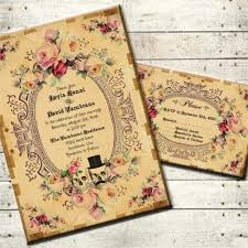 free steampunk invitation templates free custom invitation