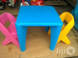 Plastic Table And Chairs Plastic Children U0027s Chairs In Nigeria For Sale Prices On Jiji Ng