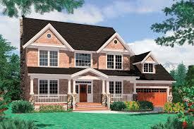 symmetrical house plans farmhouse style house plan 4 beds 2 50 baths 2500 sq ft plan 48 105