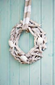 how to make cottage seashell wreath nautical coastal diy
