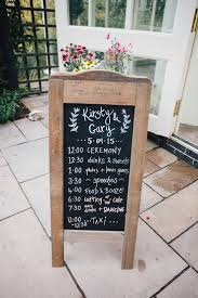 wedding signing board the 25 best wedding schedule ideas on wedding