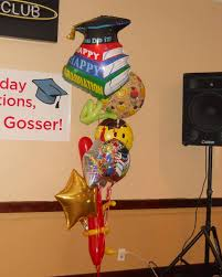 balloon arrangements for graduation graduation balloon bouquet