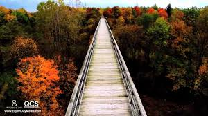 Michigan Fall Color Map by Michigan Fall Colors Avoca Trestle On Vimeo