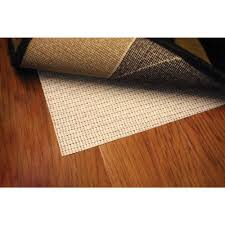 Rug On Laminate Floor 6 X 9 Rug Padding U0026 Grippers Rugs The Home Depot